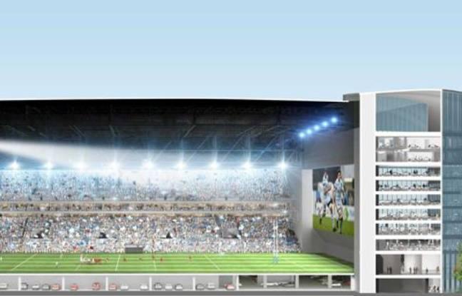 Le projet de la salle U Arena.