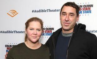 La comédienne Amy Schumer et son mari Chris Fischer