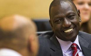 Le vice-président kényan William Ruto lors de son procès à La Hague devant la Cour Pénale Internationale le 10 septembre 2013.