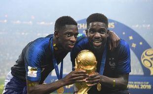 Dembélé et Umtiti, c'est la France qui gagne.