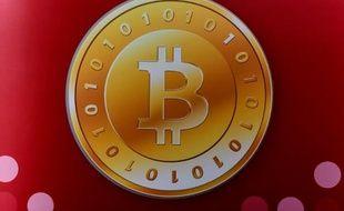 Logo de la monnaie numérique Bitcoin