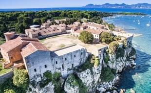 Le fort royal de l'île Sainte-Marguerite abrite un musée