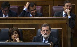 Mariano Rajoy, le 23 mai 2018 à l'Assemblée espagnole.
