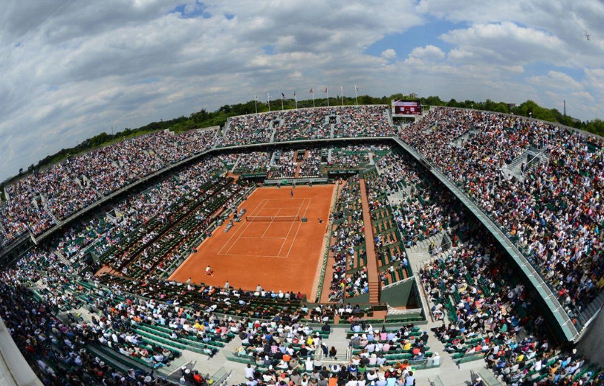 Vue sur le stade de Roland-Garros en 2013 (illustration). – REAU ALEXIS/SIPA