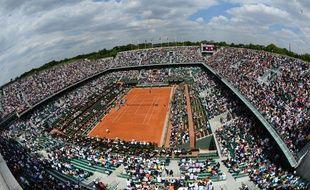 Vue sur le stade de Roland-Garros en 2013 (illustration).