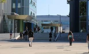 Le campus Tertre de l'université de Nantes