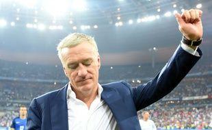 Didier Deschamps à l'issue de la finale de l'Euro-2016 le 10 juillet 2016 au Stade de France à Saint-Denis