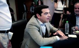 Le Premier ministre grec Alexis Tsipras à Athènes, le 2 juin 2015