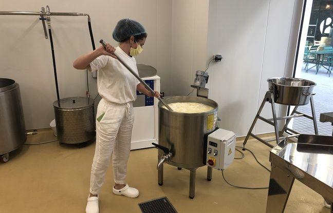 La laiterie nantaise vient d'ouvrir sur l'île de Nantes