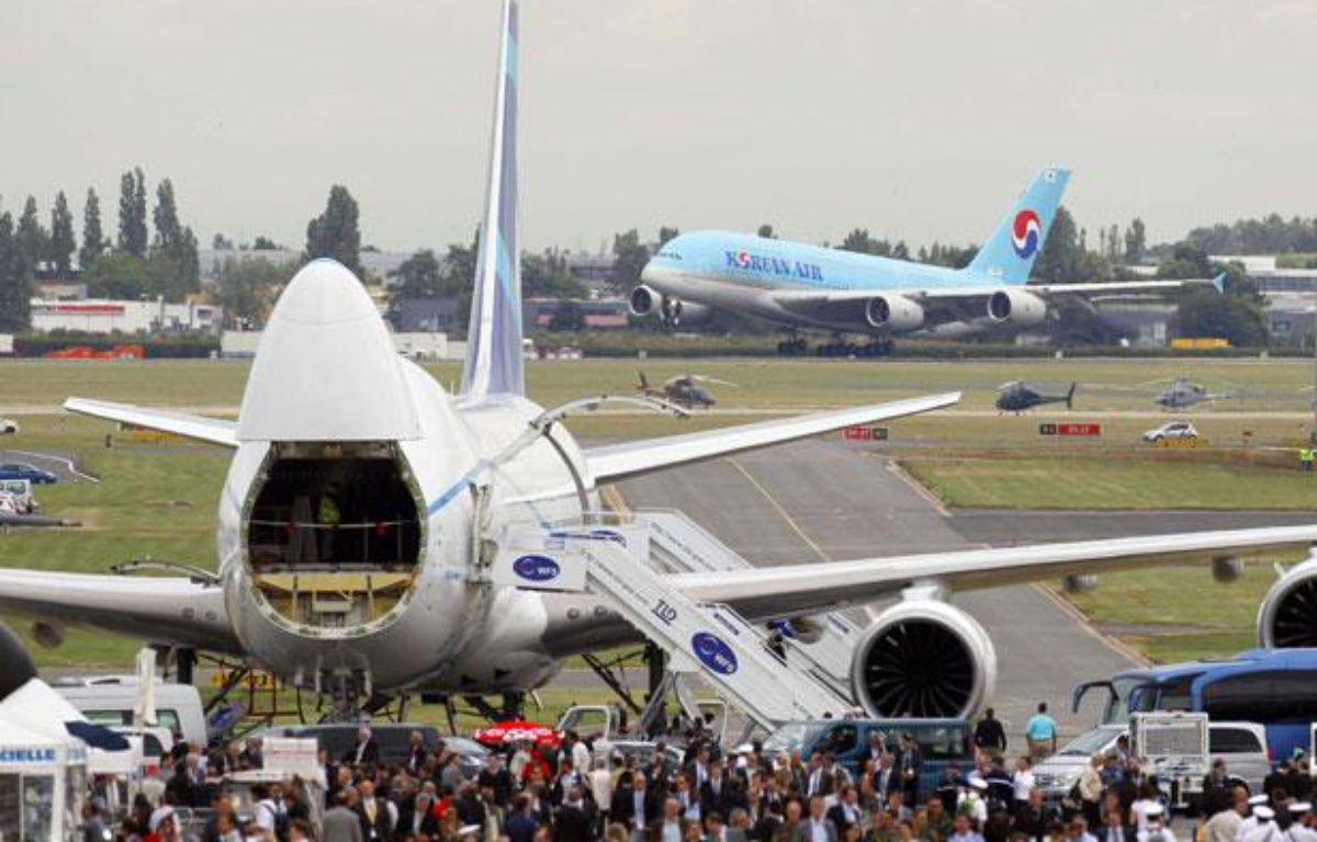 Un Airbus A380 au salon du Bourget le 21 juin 2011. – Francois Mori/AP/SIPA