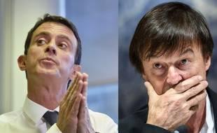 Manuel Valls et Nicolas Hulot