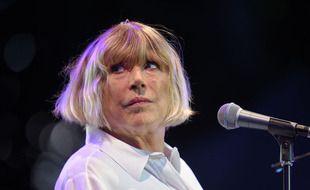 Marianne Faithfull au Festival Cognac Blues Passion, en juillet 2016.