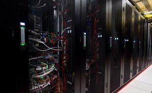 Un centre de données d'Equinix