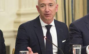 Le milliardaire américain Jeff Bezos