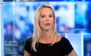 Vanessa Burggraf sur France 24 en septembre 2014.