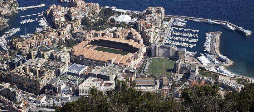 Le stade Louis-II à Monaco