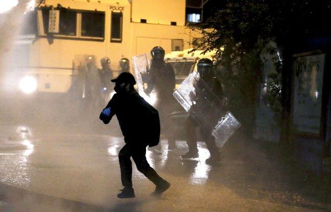 648x415 des jeunes irlandais ont affronte les forces de l ordre jeudi soir a belfast