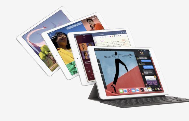Les nouveaux iPad d'Apple.