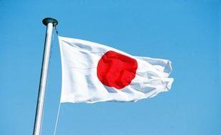 Le drapeau du Japon.