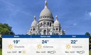 Météo Paris: Prévisions du dimanche 12 juillet 2020