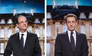 François Hollande l'emporterait avec 54% (-0,5 point) des voix contre 46% à Nicolas Sarkozy, selon un sondage Ifop-Fiducial