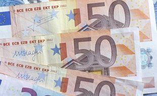 Des billets euros (photo illustration).