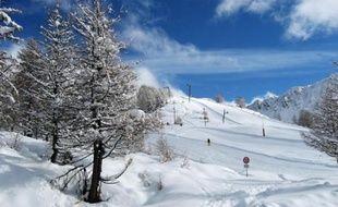 Jusqu'à 1 mètre de neige est attendu en 12 heures au-dessus de 1800m.