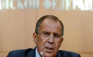 Sergueï Lavrov, chef de la diplomatie russe, le 26 août 2013à Moscou.