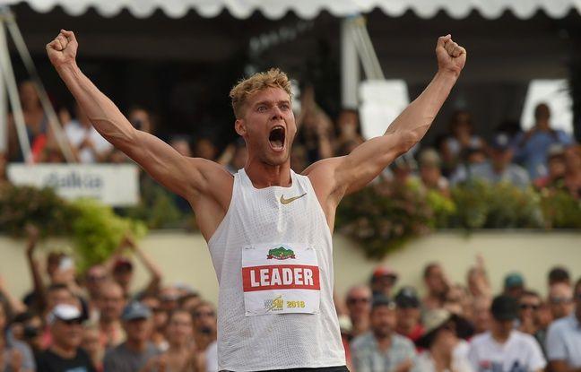 Athlétisme: «J'ai eu la boule au ventre», confie Kevin Mayer de retour au Décastar sur la piste de son exploit