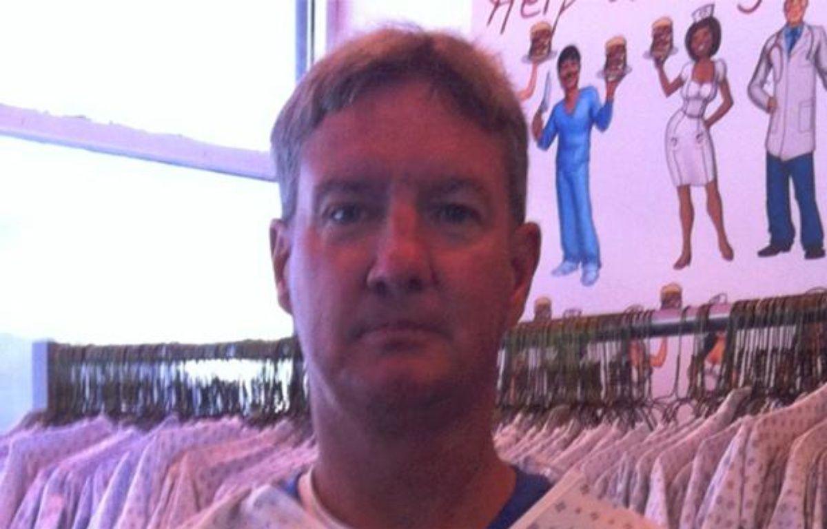 Capture d'écran d'une vidéo hommage à John Alleman, client du «Heart Attack Grill», décédé le 11 février 2013, à Las Vegas (Etats-Unis). – 20minutes.fr