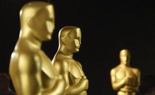 Des statues de la 92e cérémonie des Oscars (illustrations).