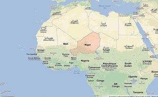 Carte du Niger