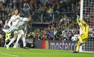 Hugo Lloris a réalisé plusieurs arrêts de grandes classes lors de Real Madrid-Tottenham en Ligue des champions, le 17 octobre 2017 à Bernabeu.