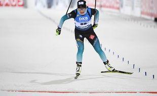 Justine Braisaz s'est imposée vendredi lors de l'individuel 15 km.