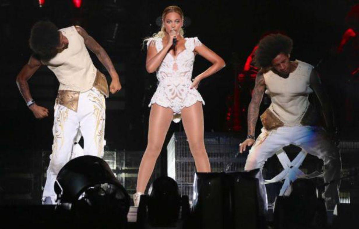 Beyoncé au Stade Morumbi, à São Paulo, au Brésil, le 15 septembre 2013. – Nick Farrell/AP/SIPA