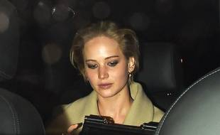 Jennifer Lawrence  à Londres le 25 avril 2014