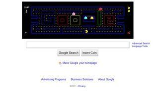Le 21 mai 2010, Google célébrait les 30 ans du jeu vidéo Pacman, avec ce Doodle interactif.