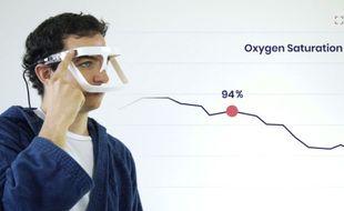 Parmi les 100 innovations en lice pour l'édition 2021 du Grand prix Netexplo de l'innovation, Team discover, une paire de lunettes imprimée en 3D, permet la surveillance à distance et simultanée des signes vitaux d'une centaine de patients Covid.