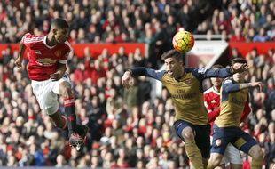 Manchester United-Arsenal (3-2) le 28 février 2016.
