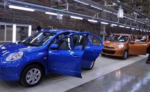 """Deux ans après son retour en Inde et fort des enseignements tirés de l'échec de la Logan, Renault bénéficie aujourd'hui d'un spectaculaire redémarrage dans un marché pourtant en perte de vitesse, grâce à une """"indianisation"""" de ses véhicules et une solide image de marque."""