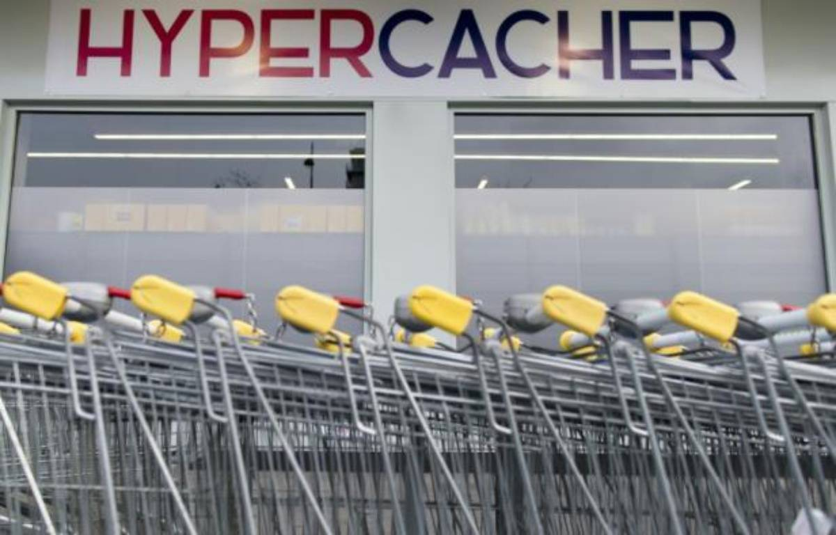 Le magasin Hyper Cacher à Paris le 15 mars 2015 – Kenzo Tribouillard AFP