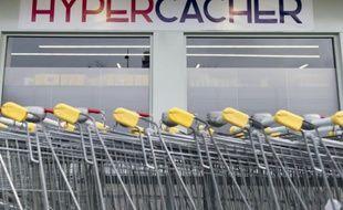Le magasin Hyper Cacher à Paris le 15 mars 2015