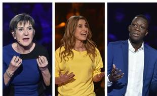 Gisele, Virginie et Lamine, trois des douze candidats du «Grand oral» de France 2.
