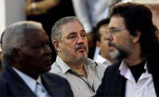 Fidel Castro Diaz-Balart, le fils aîné de Fidel Castro (ici en 2012), s'est suicidé le 1er février 2018.