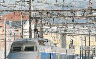 Les trains circuleront à 250km/h maximum entre Marseille et Nice.