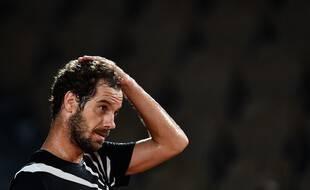 Richard Gasquet, le 29 septembre 2020 à Roland-Garros.