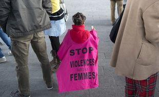 Manifestation contre les violences faites aux femmes, le 8 mars 2018 à Marseille.