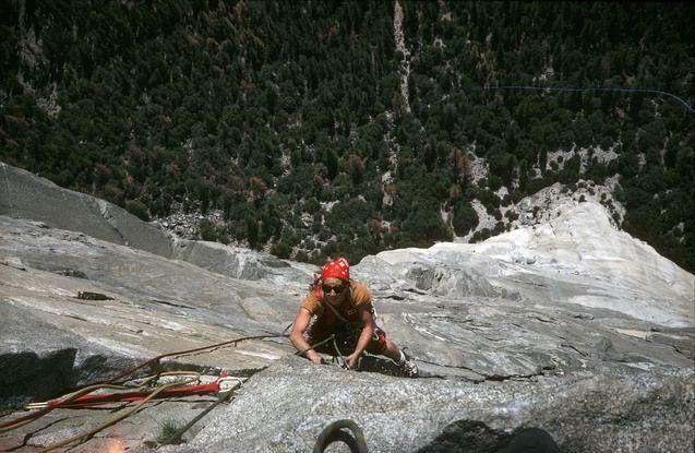 Martine Rolland a multiplié les aventures en alpinisme et en escalade jusqu'à l'âge de 55 ans.