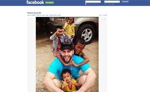 Capture d'écran de la page Facebook de Peter Lynagh, un habitant de Melbourne (Australie), qui s'est privé de relations sexuelles pendant un an.