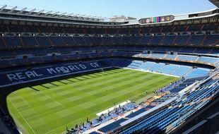 Le stade du Real Madrid, le Bernabeu
